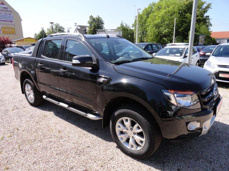Ford Ranger 3.2 TDCI 200 DOUBLE CABINE WILDTRAK 4X4 Noir occasion à Quimper