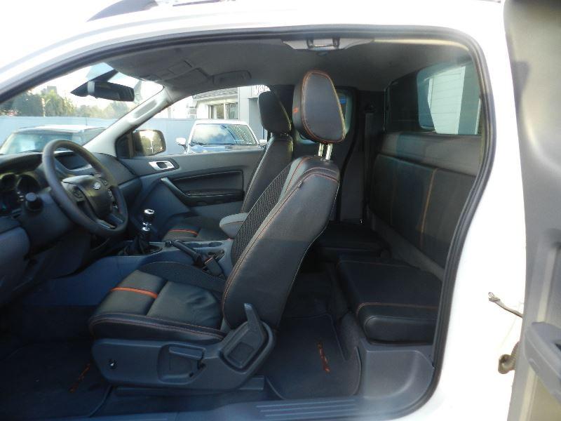 Ford Ranger 3.2 TDCI 200 SUPER CAB WILDTRAK 4X4 Blanc occasion à Quimper - photo n°3