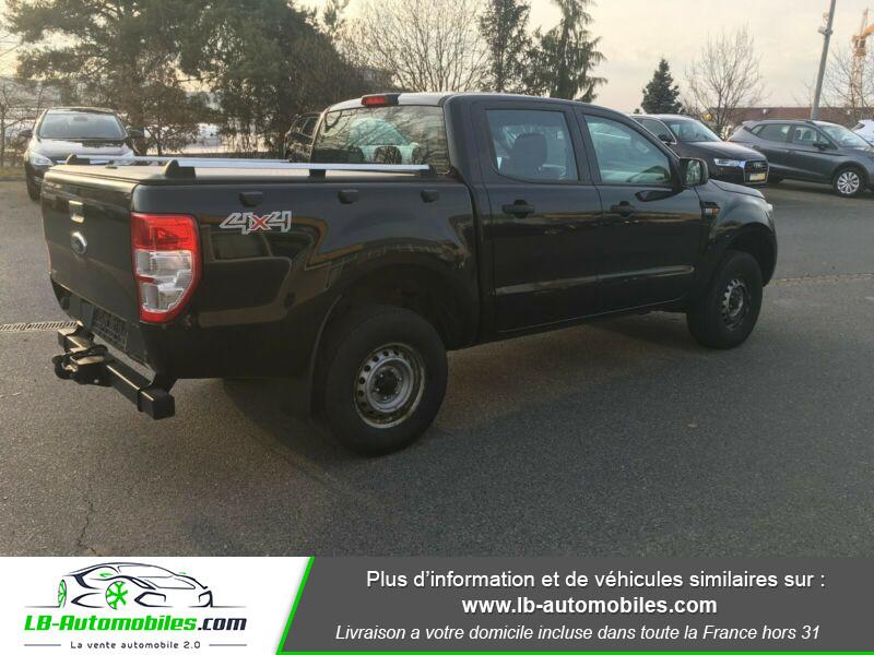 Ford Ranger DOUBLE CABINE 2.2 TDCi 160 Noir occasion à Beaupuy - photo n°3