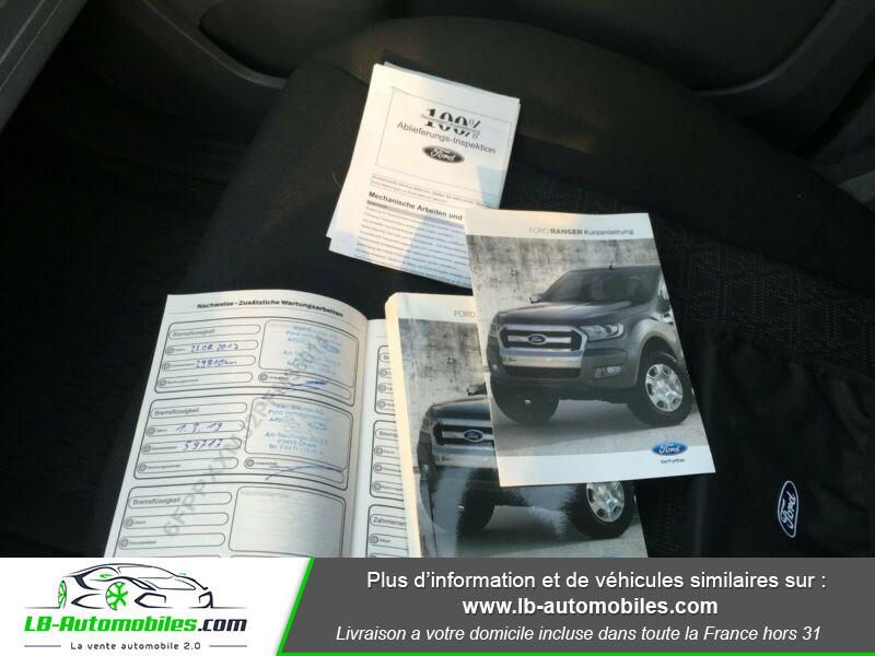 Ford Ranger DOUBLE CABINE 2.2 TDCi 160 Noir occasion à Beaupuy - photo n°13