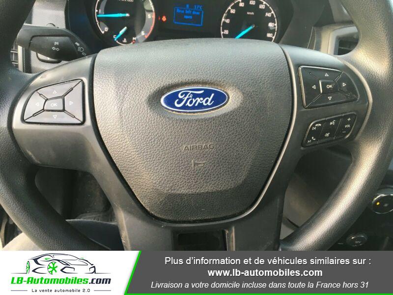 Ford Ranger DOUBLE CABINE 2.2 TDCi 160 Noir occasion à Beaupuy - photo n°2