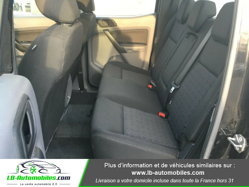 Ford Ranger DOUBLE CABINE 2.2 TDCi 160 Noir occasion à Beaupuy - photo n°11
