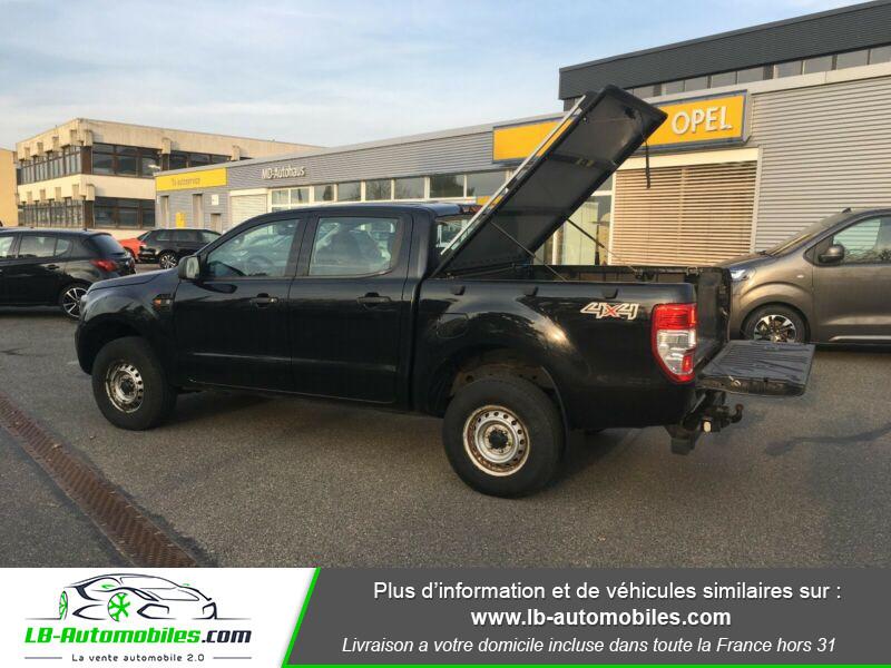 Ford Ranger DOUBLE CABINE 2.2 TDCi 160 Noir occasion à Beaupuy - photo n°4