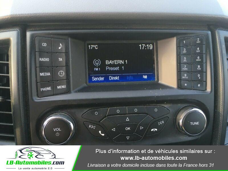 Ford Ranger DOUBLE CABINE 2.2 TDCi 160 Noir occasion à Beaupuy - photo n°10