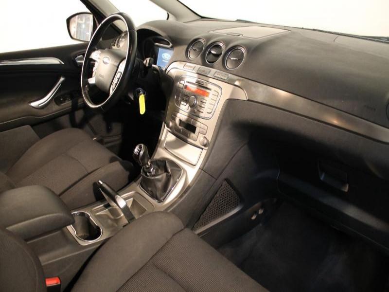 Ford S-max 1.8 TDCI 125 TITANIUM 7P Gris occasion à Brest - photo n°5