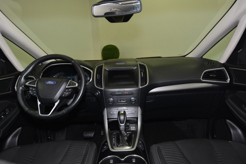 Ford S-max 2.0 TDCI 150CH STOP&START BUSINESS NAV POWERSHIFT Gris occasion à Quimper - photo n°5