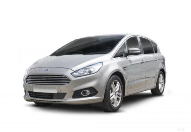 Ford S-max 2.0 TDCi 180ch Stop&Start Titanium PowerShift Gris occasion à LA QUEUE-EN-BRIE