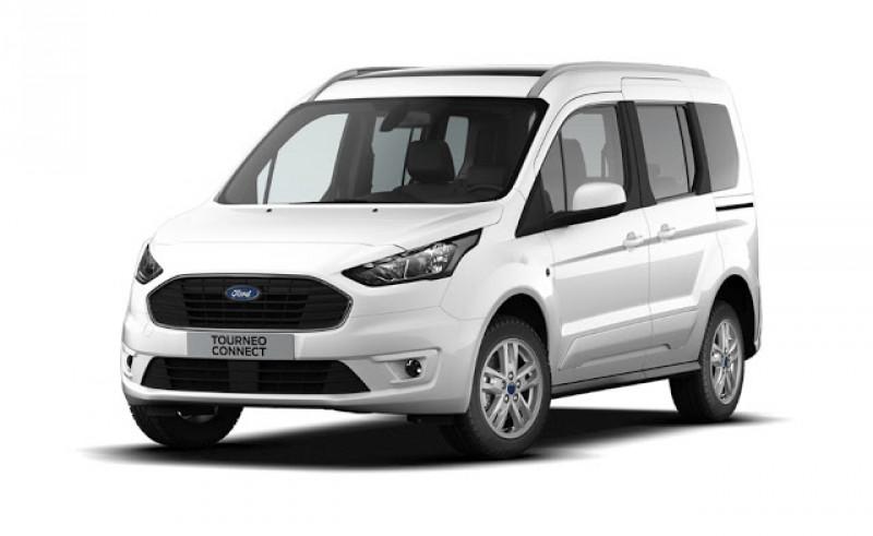 Ford Tourneo Connect 1.0 EcoBoost 100ch Stop&Start Trend Blanc occasion à VILLE LA GRAND