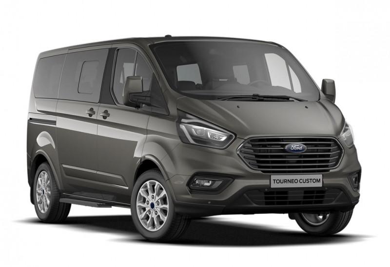 Ford Tourneo 310 L2H1 2.0 TDCI 170ch Titanium Gris occasion à SEGNY