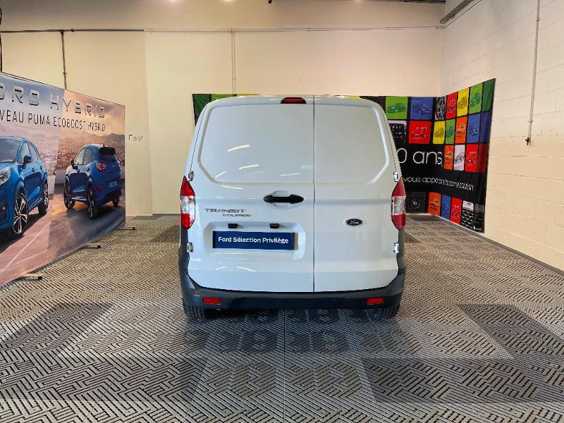 Ford Transit 1.5 TD 75ch Trend Blanc occasion à Dijon - photo n°6