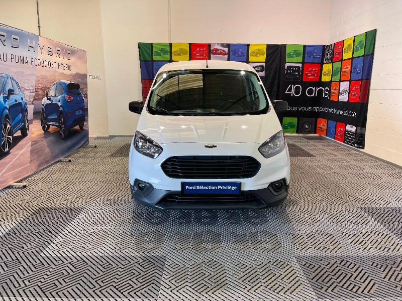 Ford Transit 1.5 TD 75ch Trend Blanc occasion à Dijon - photo n°2