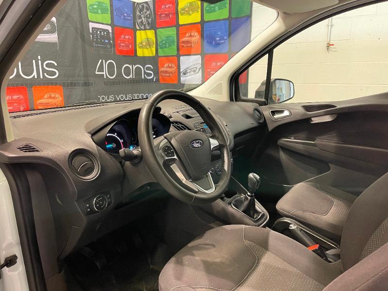 Ford Transit 1.5 TD 75ch Trend Blanc occasion à Dijon - photo n°19