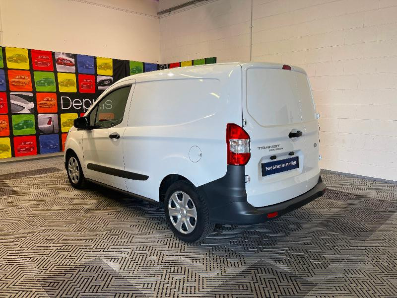 Ford Transit 1.5 TD 75ch Trend Blanc occasion à Dijon - photo n°4