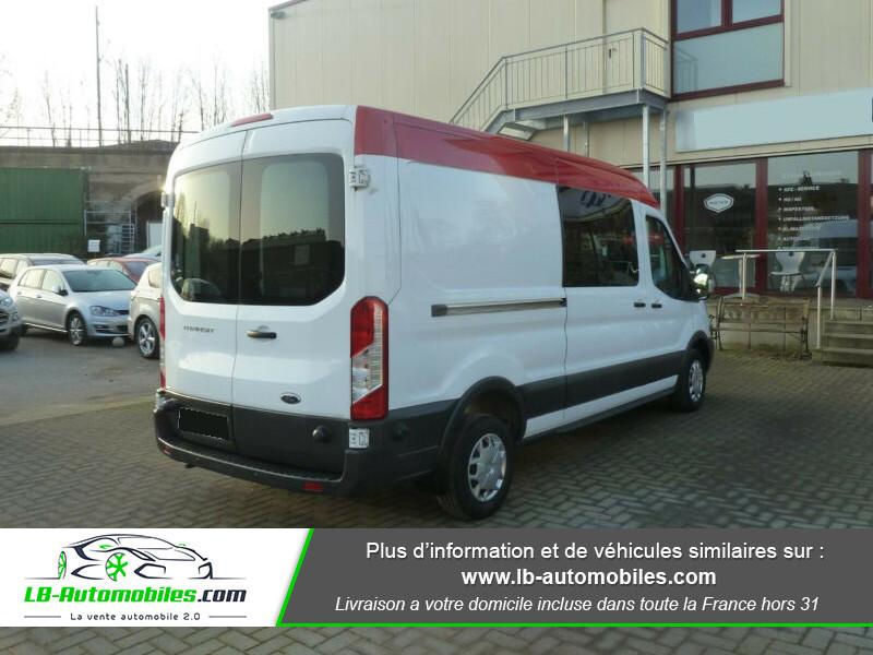 Ford Transit 2.2 TDCI 125 Blanc occasion à Beaupuy - photo n°3