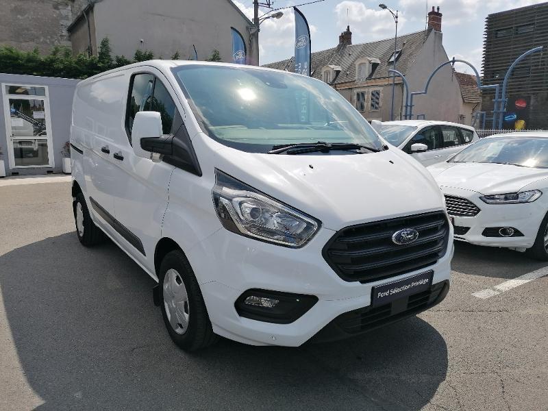 Ford Transit 280 L1H1 2.0 TDCi 130 Trend Business Blanc occasion à Fleury-les-Aubrais - photo n°3