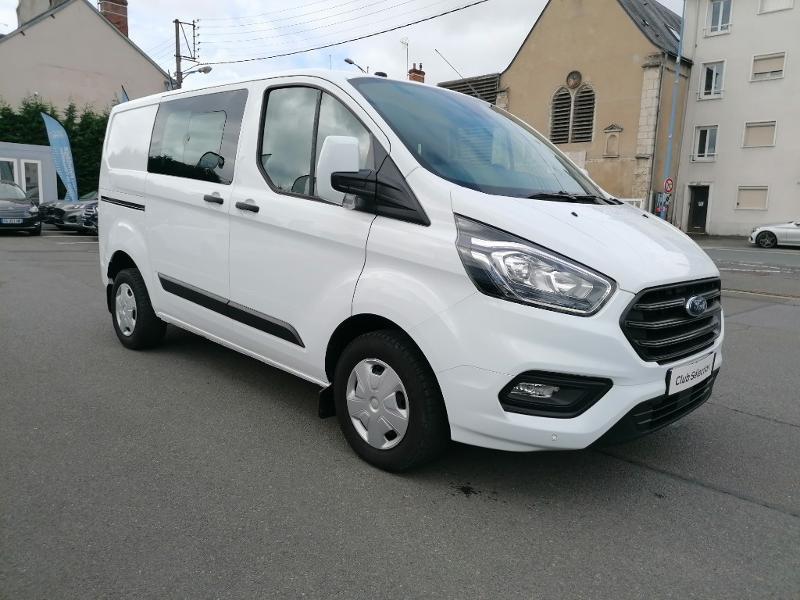 Ford Transit 300 L1H1 2.0 TDCi 130 Cabine Approfondie Limited Blanc occasion à Fleury-les-Aubrais - photo n°3