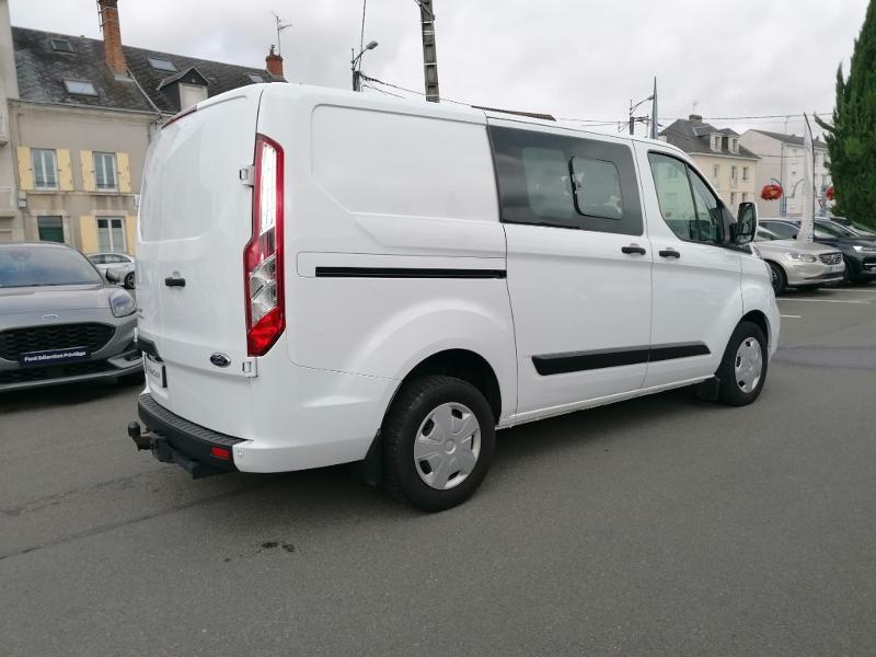 Ford Transit 300 L1H1 2.0 TDCi 130 Cabine Approfondie Limited Blanc occasion à Fleury-les-Aubrais - photo n°4