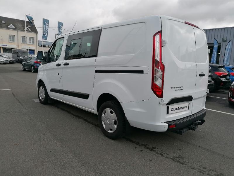 Ford Transit 300 L1H1 2.0 TDCi 130 Cabine Approfondie Limited Blanc occasion à Fleury-les-Aubrais - photo n°6