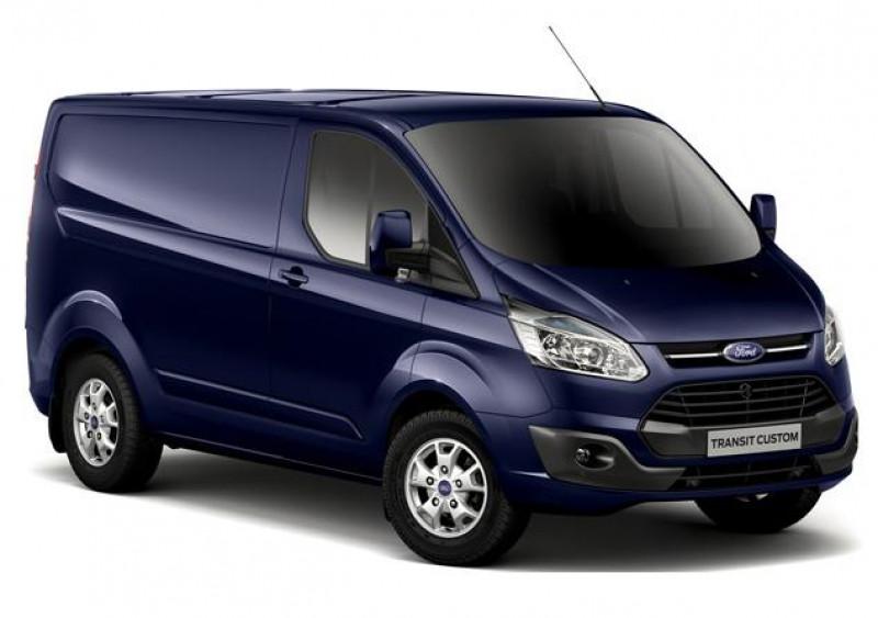Ford Transit 320 L1H1 2.0 EcoBlue 130ch mHEV Trend Business Bleu occasion à ANNECY