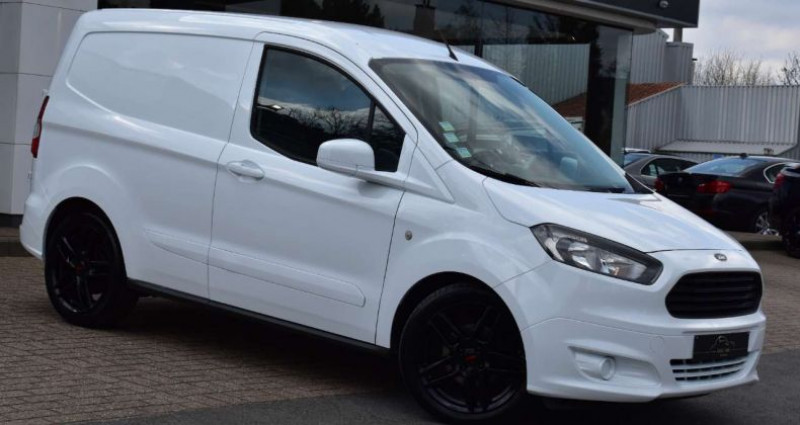Ford Transit Courier 1.5 TDCi Blanc occasion à Ingelmunster - photo n°2