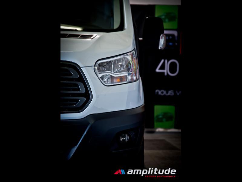 Ford Transit P350 L2H2 2.0 TDCi 130ch Trend Business Blanc occasion à Dijon - photo n°18