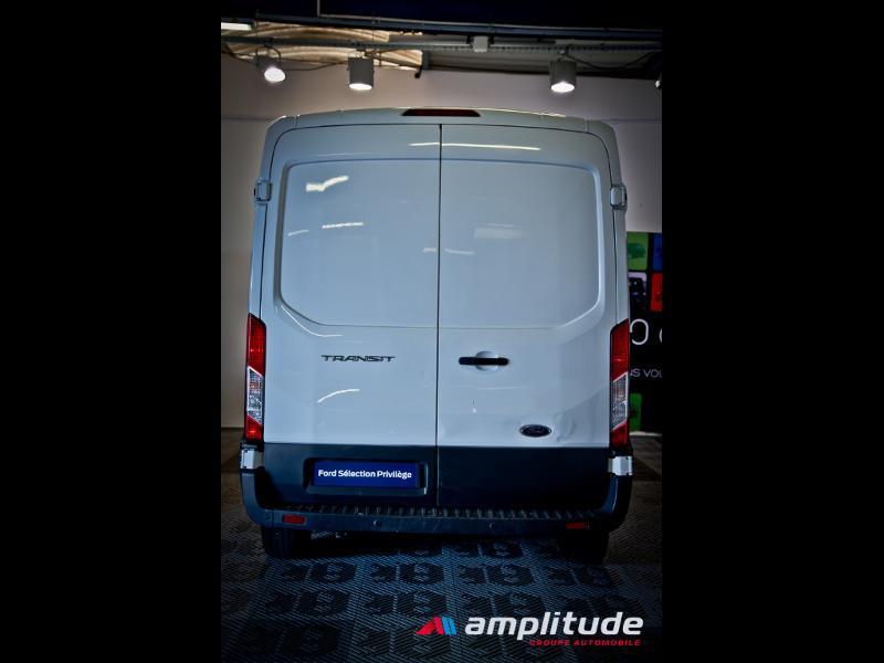 Ford Transit P350 L2H2 2.0 TDCi 130ch Trend Business Blanc occasion à Dijon - photo n°5