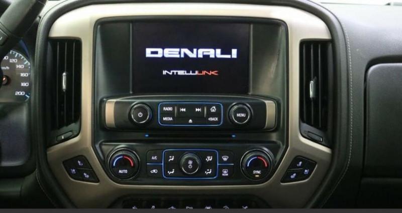 Gmc Sierra 6.2l denali crew cab 4wd 2017 prix tout compris hors homolog Noir occasion à PONTAULT COMBAULT - photo n°2