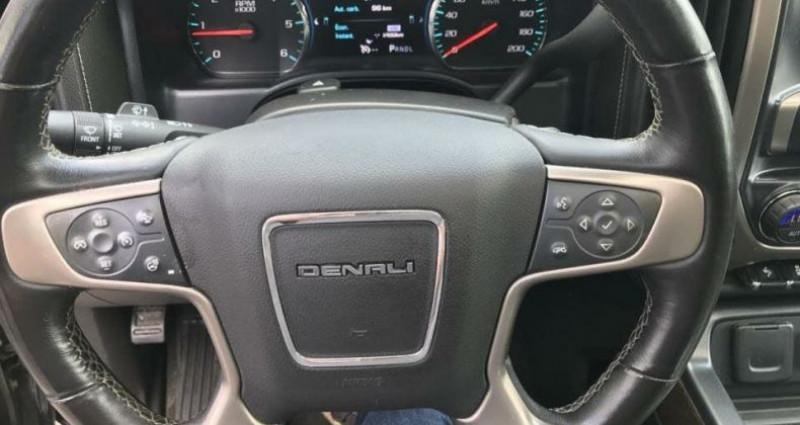 Gmc Sierra denali v8 6.2l crew cab 4wd prix tout compris hors homologat Noir occasion à PONTAULT COMBAULT - photo n°2