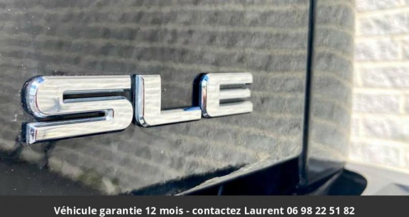 Gmc Sierra sle crew cab 4wd 2017 prix tout compris hors homologation 45 Noir occasion à Paris - photo n°3