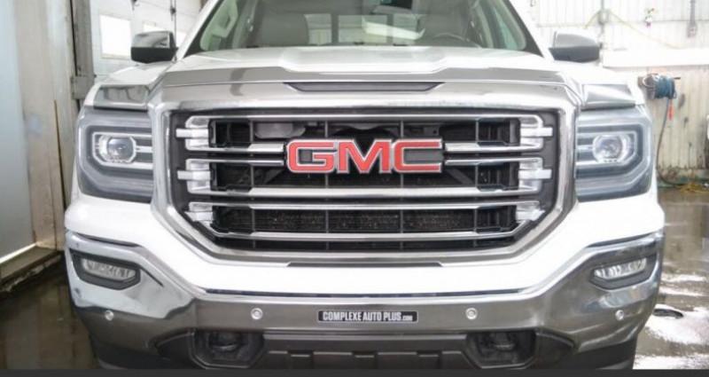 Gmc Sierra slt crew cab 4wd 2016 prix tout compris hors homologation 45 Blanc occasion à PONTAULT COMBAULT