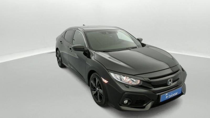 Honda Civic 1.0 i-VTEC 126ch Elegance 5p Noir occasion à SAINT-GREGOIRE - photo n°7
