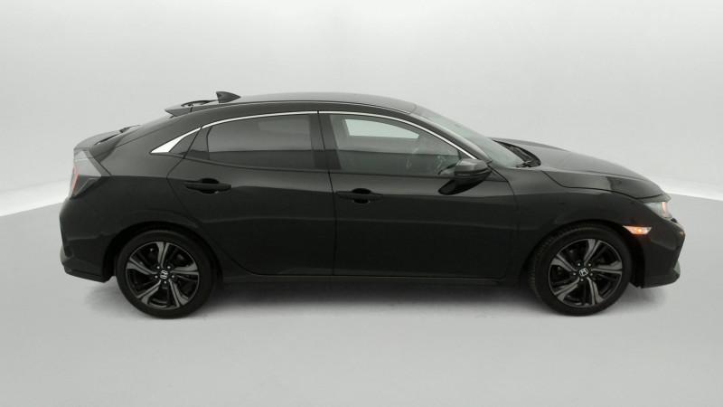 Honda Civic 1.0 i-VTEC 126ch Elegance 5p Noir occasion à SAINT-GREGOIRE - photo n°6