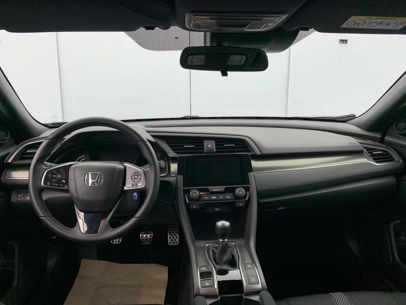 Honda Civic 1.0 i-VTEC 126ch Elegance 5p Noir occasion à SAINT-GREGOIRE - photo n°15