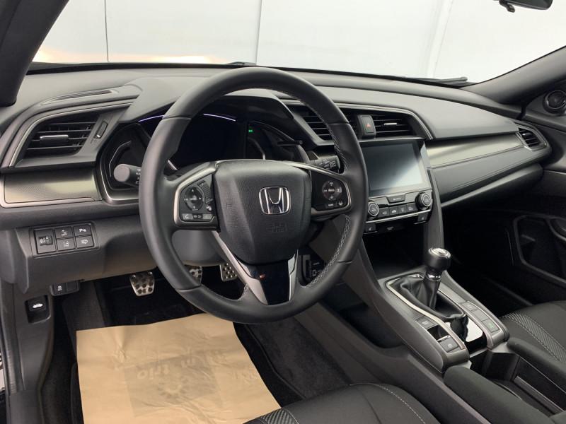 Honda Civic 1.0 i-VTEC 126ch Elegance 5p Noir occasion à SAINT-GREGOIRE - photo n°10