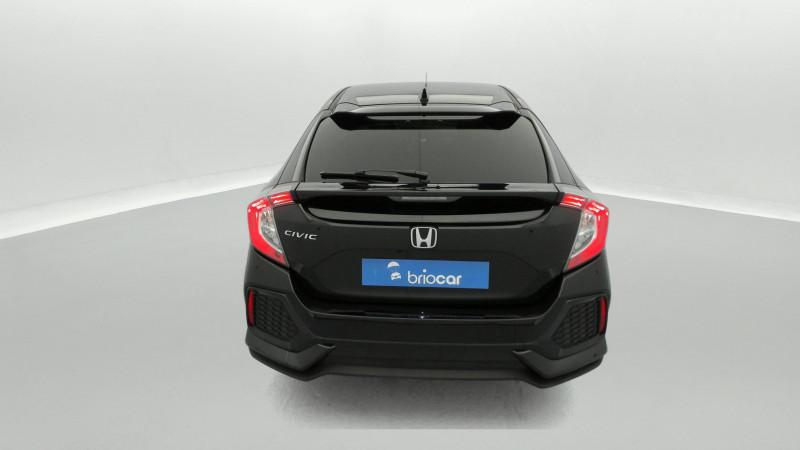 Honda Civic 1.0 i-VTEC 126ch Elegance 5p Noir occasion à SAINT-GREGOIRE - photo n°4