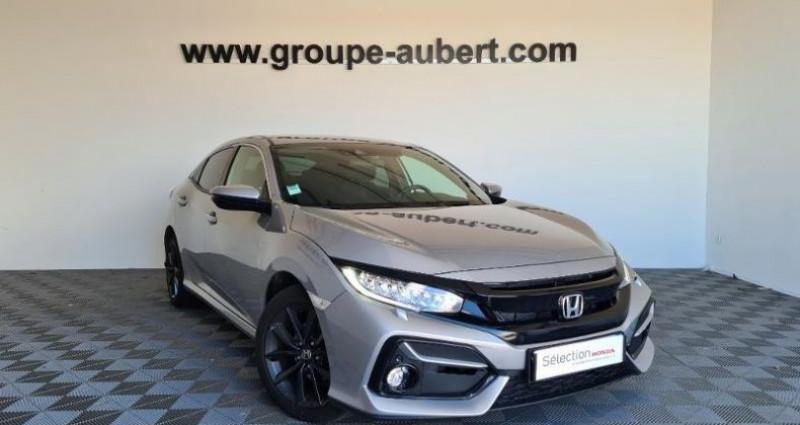 Honda Civic 1.0 i-VTEC 126ch Executive 5p 2020 Argent occasion à TOURLAVILLE