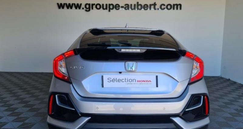Honda Civic 1.0 i-VTEC 126ch Executive 5p 2020 Argent occasion à TOURLAVILLE - photo n°5