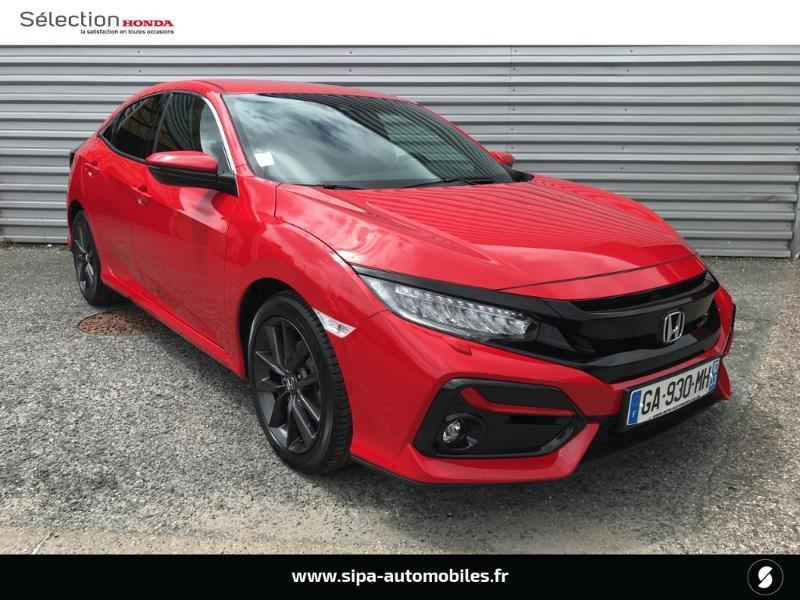 Honda Civic 1.0 i-VTEC 126ch Executive 5p 2020 Rouge occasion à Le Bouscat - photo n°2