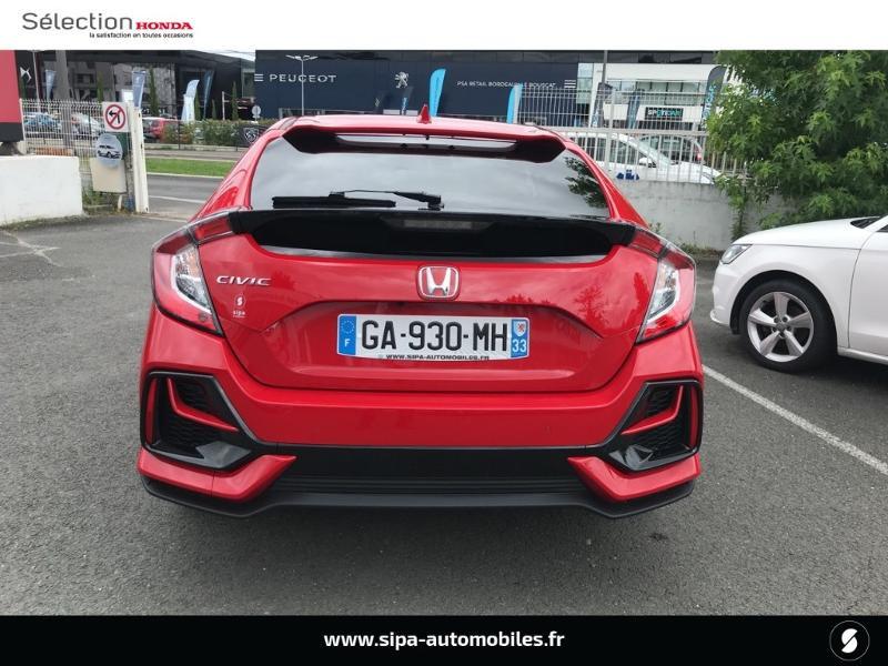 Honda Civic 1.0 i-VTEC 126ch Executive 5p 2020 Rouge occasion à Le Bouscat - photo n°18