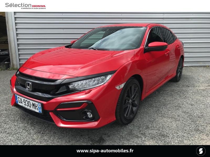 Honda Civic 1.0 i-VTEC 126ch Executive 5p 2020 Rouge occasion à Le Bouscat