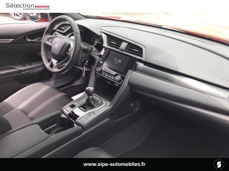 Honda Civic 1.0 i-VTEC 126ch Executive 5p 2020 Rouge occasion à Le Bouscat - photo n°4