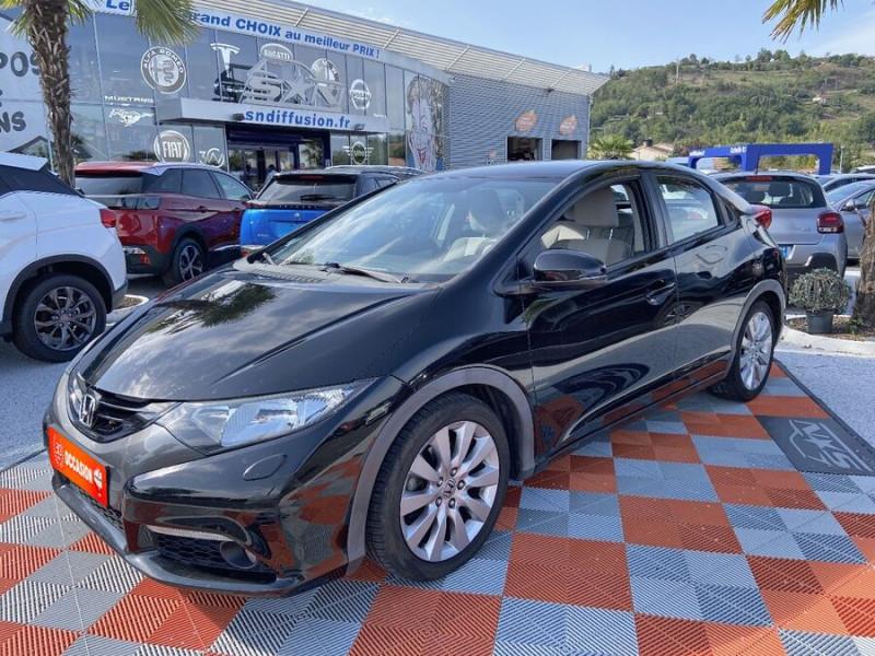 Honda Civic 1.6 I-DTEC 120 BV6 EXECUTIVE Noir occasion à Lescure-d'Albigeois
