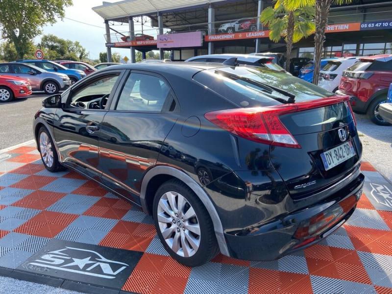 Honda Civic 1.6 I-DTEC 120 BV6 EXECUTIVE Noir occasion à Lescure-d'Albigeois - photo n°5