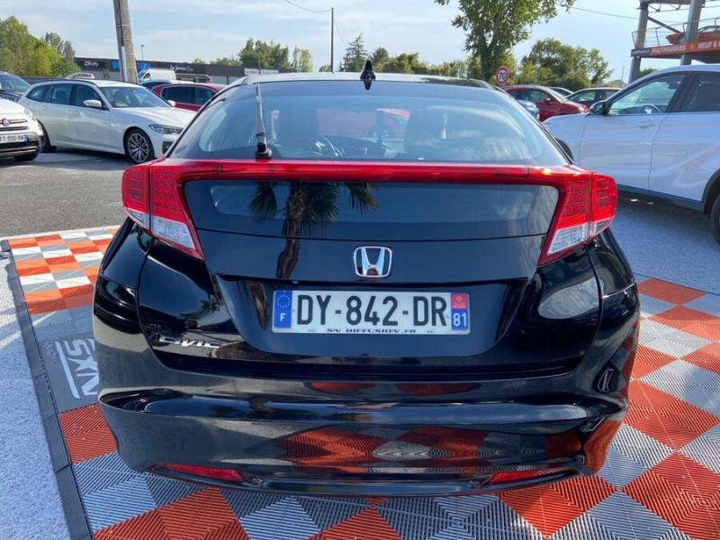 Honda Civic 1.6 I-DTEC 120 BV6 EXECUTIVE Noir occasion à Lescure-d'Albigeois - photo n°6