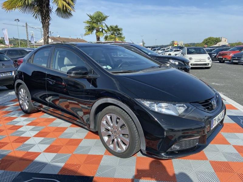 Honda Civic 1.6 I-DTEC 120 BV6 EXECUTIVE Noir occasion à Lescure-d'Albigeois - photo n°10