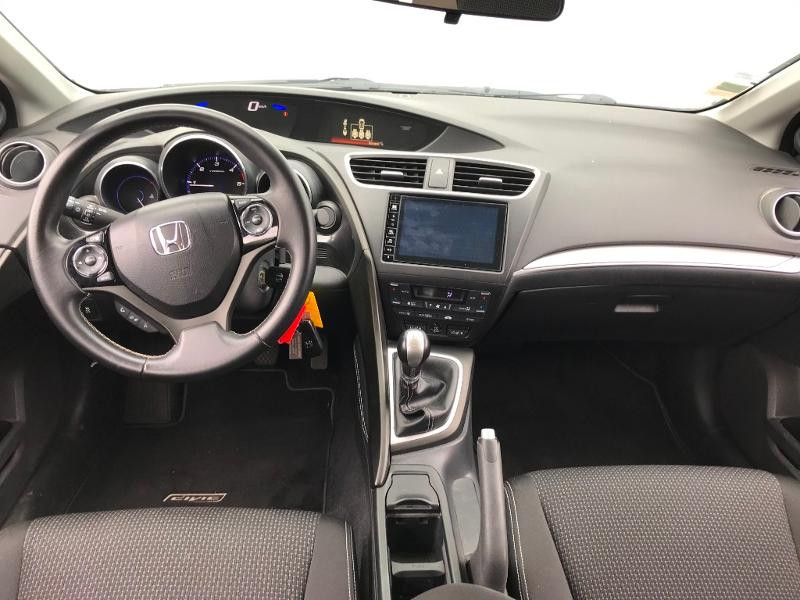 Honda Civic 1.6 i-DTEC 120 Executive Navi Gris occasion à Labège - photo n°8