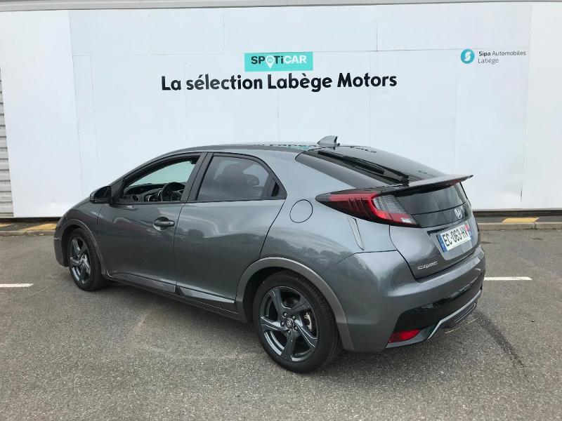 Honda Civic 1.6 i-DTEC 120 Executive Navi Gris occasion à Labège - photo n°7