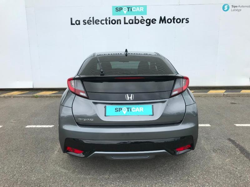 Honda Civic 1.6 i-DTEC 120 Executive Navi Gris occasion à Labège - photo n°5