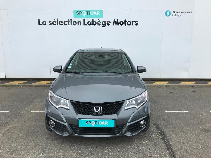 Honda Civic 1.6 i-DTEC 120 Executive Navi Gris occasion à Labège - photo n°2