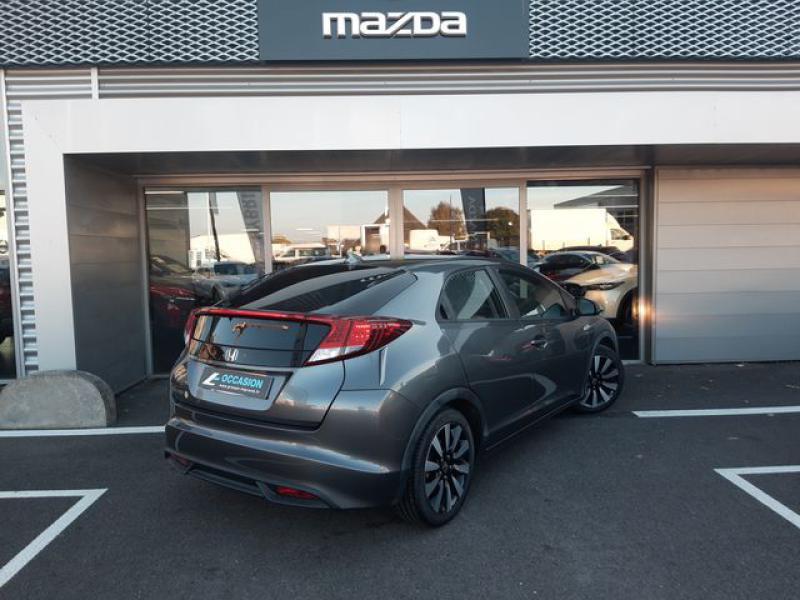 Honda Civic 1.6 i-DTEC 120ch Elegance Argent occasion à Cesson-Sévigné - photo n°4
